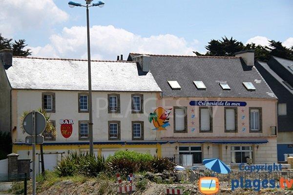 Bar et restaurant à proximité de la plage de Saint Nic
