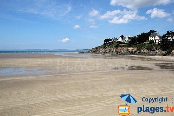 Photo de la plage de Pentrez à St Nic - Bretagne