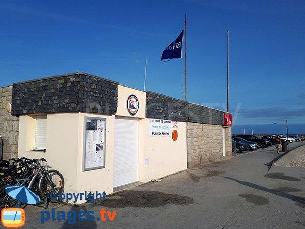 Poste de secours de la plage de Penvins - Sarzeau