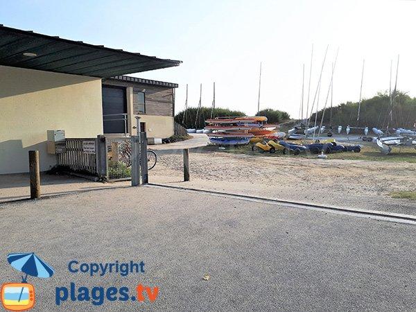 Centre de voile de la plage de Penvins - Sarzeau