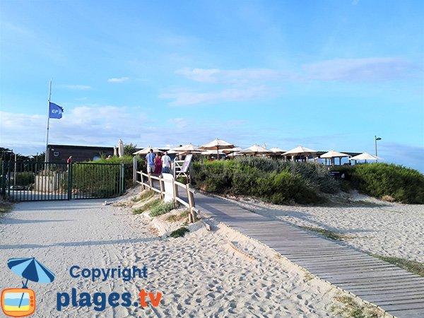 Restaurant sur la plage de Penvins - Sarzeau