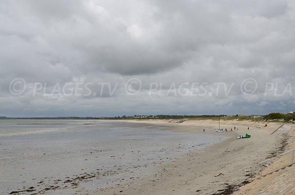 Photo de la plage de Penvins de Sarzeau