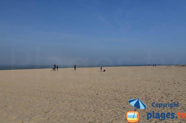 Public beach in Arcachon - the wildest beach in Arcachon