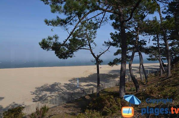Photo de la plage de Pereire à Arcachon - Bd de la Mer