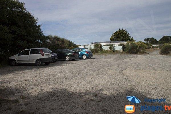 Parking de la plage de Pérello - Ploemeur