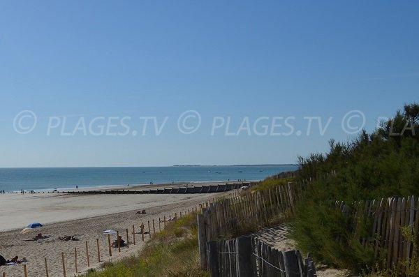 plage de la pergola la couarde sur mer 17 charente maritime poitou charentes plages tv