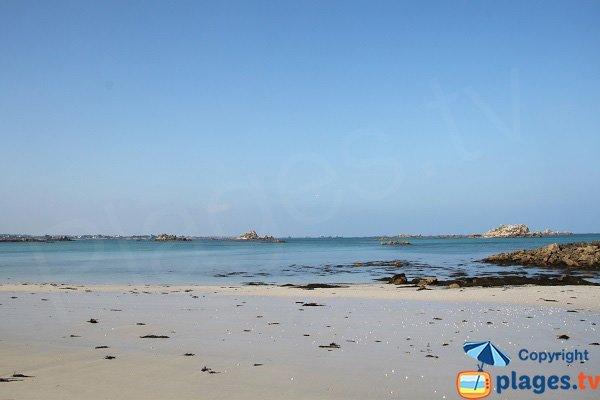 West beach of Perharidi - Roscoff