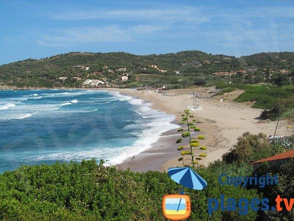 Photo of Péro beach from Fontinella trail - Cargèse