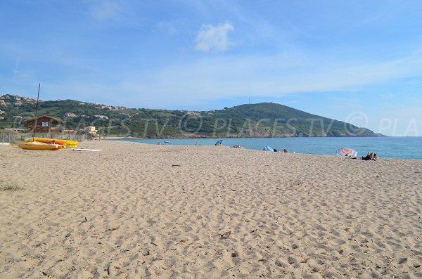 Péro beach in Cargèse