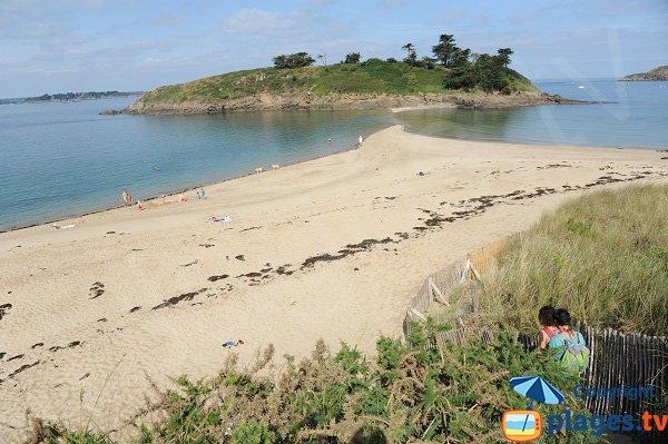 Plage du Perron à Saint Briac sur Mer
