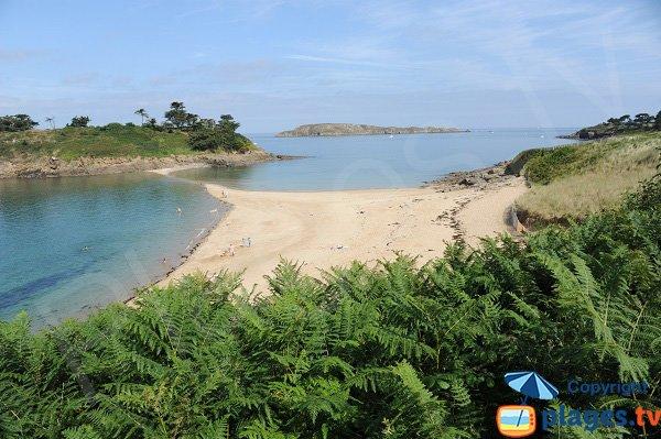 Photo de la plage du Perron à Saint Briac sur Mer