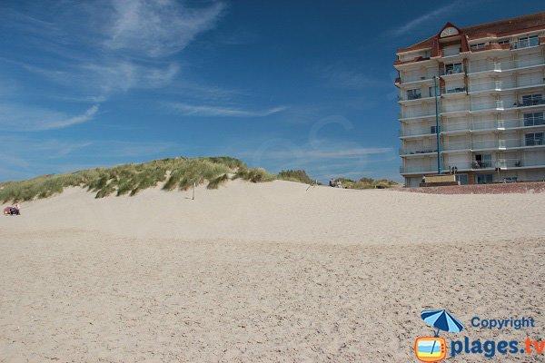 Nord de Bray-Dunes et dunes du Perroquet