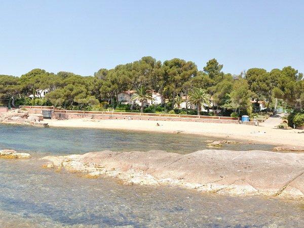 Plage de la Pescade à St Raphael