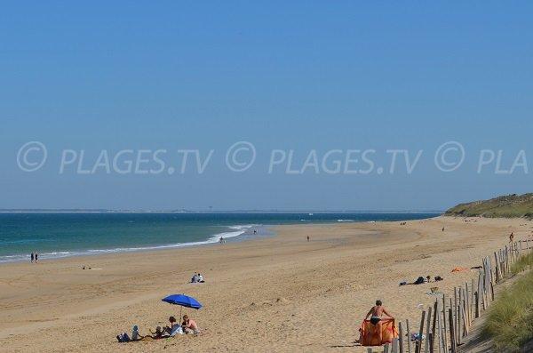 Photo de la plage du Petit Bec - Les Portes en Ré