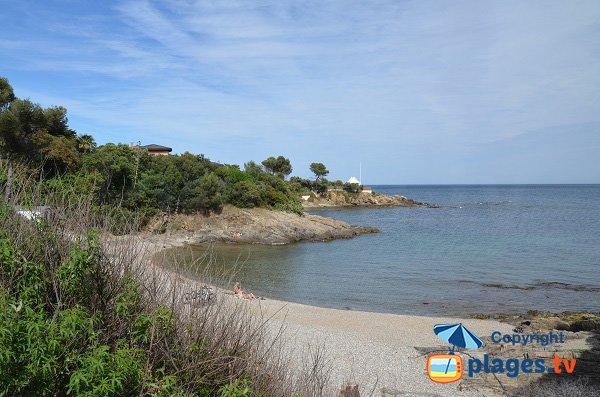 Spiaggia del Petit Boucharel a Saint Aygulf - Francia