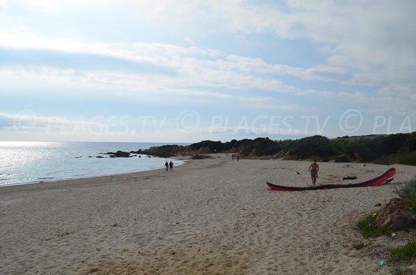 Spot di surf - spiaggia di Petit Capo - Ajaccio