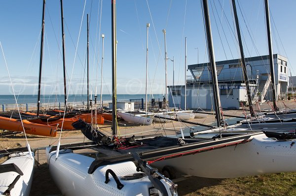 Nautical center in Luc sur Mer