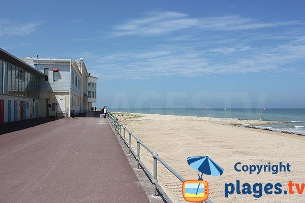 Luc sur Mer beach - West side