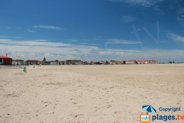 Beach in Gravelines - North of France
