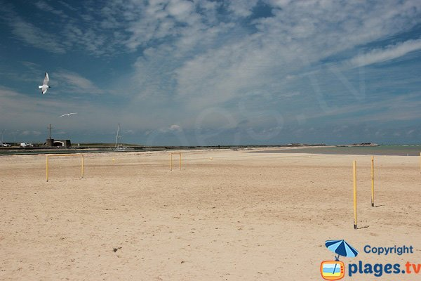 Beach soccer in Gravelines