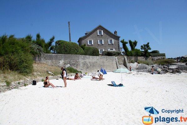 Case sulla spiaggia di Petit Nice - Brignogan