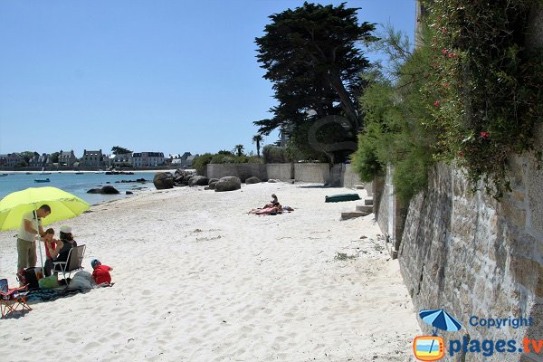 Spiaggia del Petit Nice a Brignogan