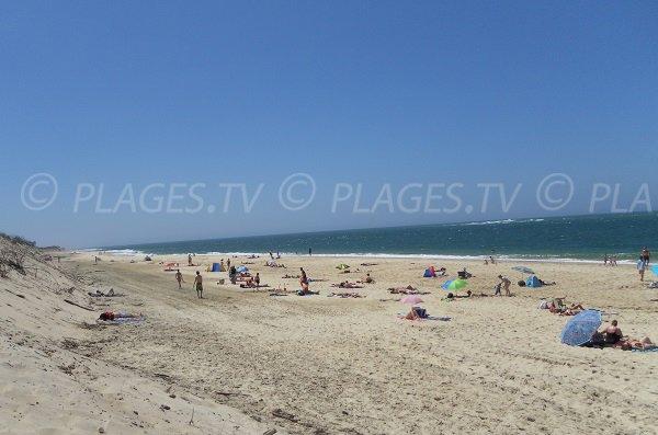 Plage du Petit Nice à Pyla sur Mer