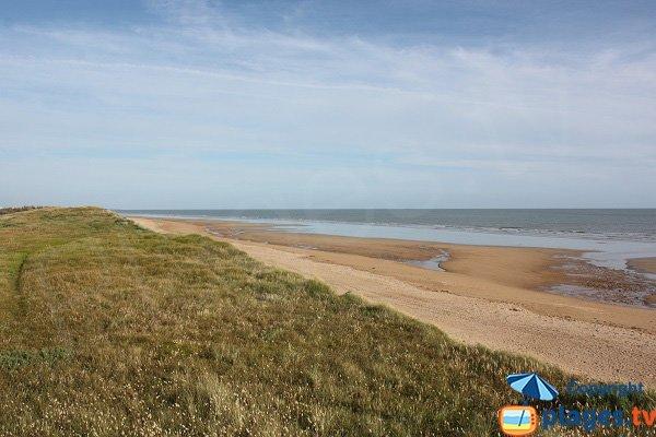 Beach next to hippodrome of Saint Jean de Monts