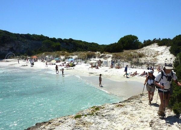 Foto spiaggia di Petit Sperone a Bonifacio - Corsica