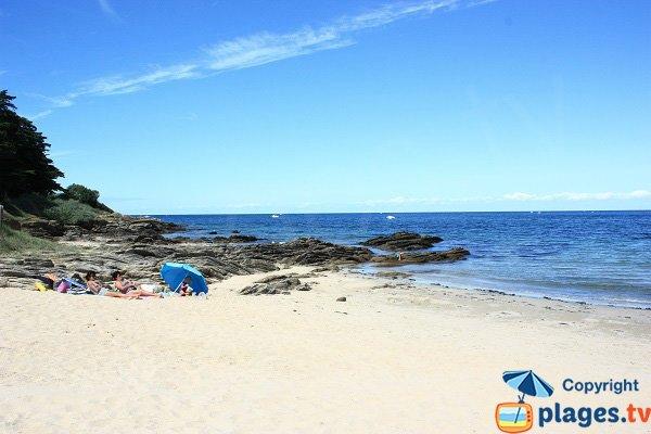 Petite Conche beach in Ile d'Yeu in France