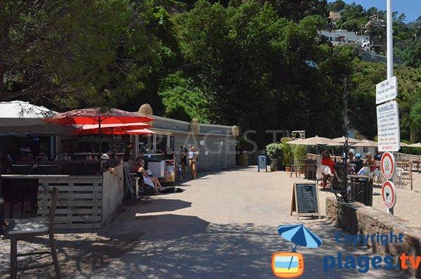 Restaurant de la plage de la Petite Fontaine - Theoule sur Mer