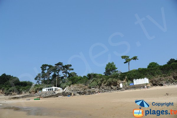 Beach of Petite Salinette in St Briac sur Mer - France