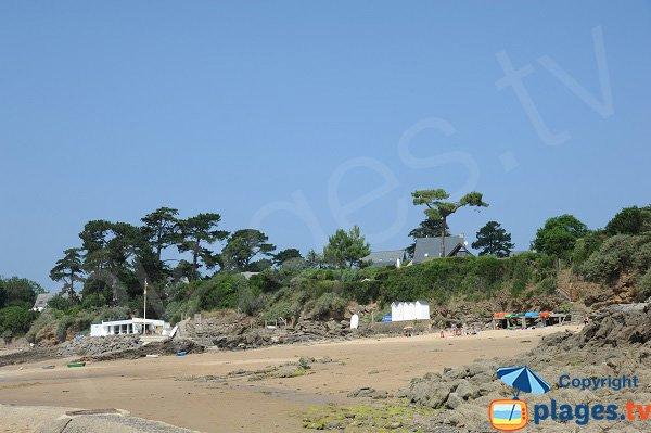 Photo de la plage de la Petite Salinette à Saint Briac sur Mer