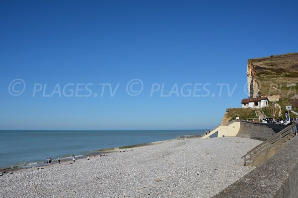 Photo of Petites Dalles beach in Normandy