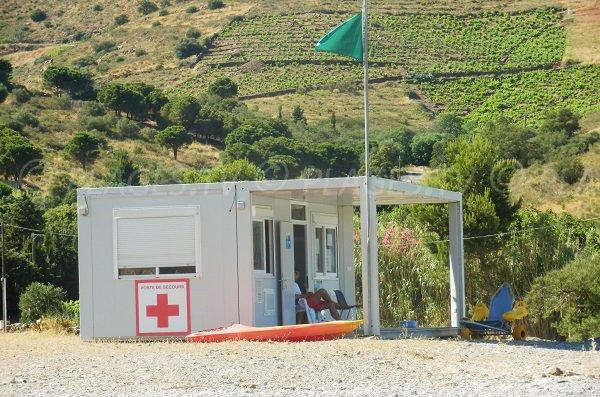 Poste de secours de la plage de Peyrefite - 66