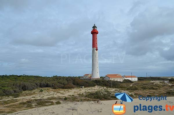 Photo lighthouse of Coubre in La Tremblade