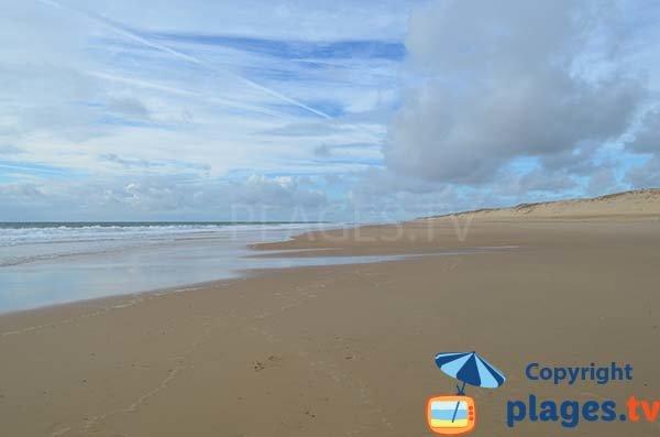 Photo of Coubre beach in La Tremblade