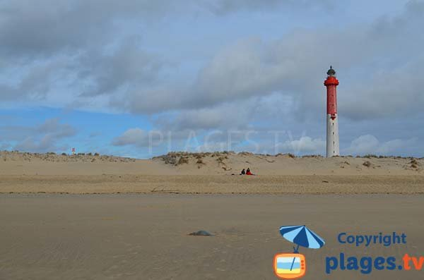 Dune and lighthouse of Coubre - La Tremblade