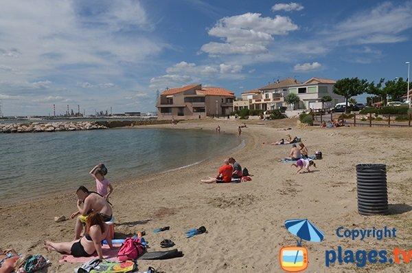 Photo de la plage du Phare à Fos sur Mer