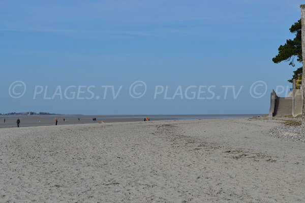 Plage dans la baie de Somme - Le Crotoy