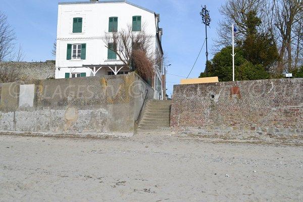 Access to the Phare beach - Le Crotoy