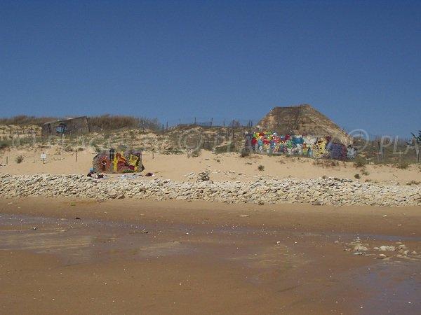 Blockhaus sur la plage de la Tranche sur Mer