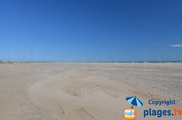 Grande spiaggia nudisti di Piemanson