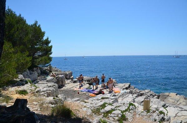 Photo of Pierres Hautes beach - Iles de Lérins (Ste Marguerite)