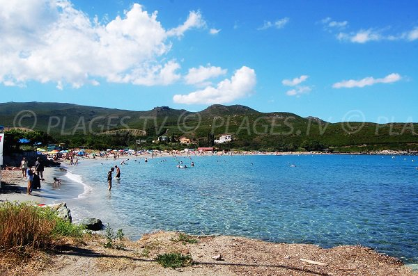 Photo of Pietracorbara beach in Corsica
