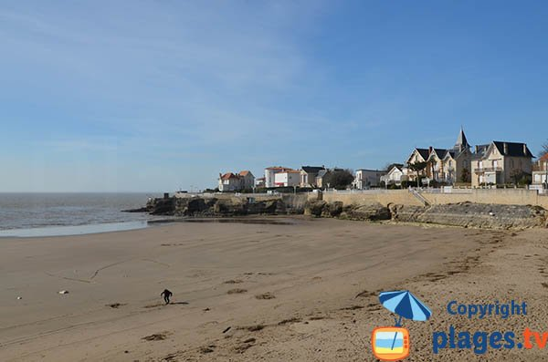 Pigeonnier beach in Royan in France