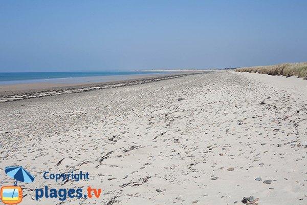 Photo de la plage du Pilet à Bretteville sur Ay dans la Manche