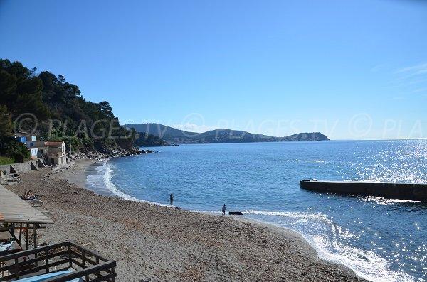 Cap Carqueiranne from Pin de Galle beach - Le Pradet