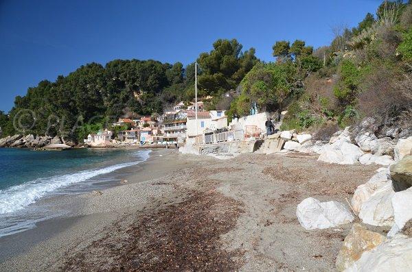 Photo of Pin de Galle beach in Le Pradet - France