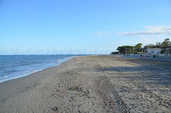 Pineto et sa plage de sable